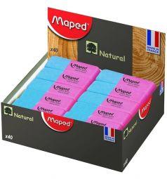 Ластик каучук Maped Duo-gom красно-синий