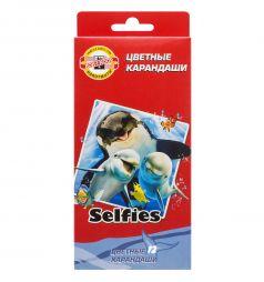 Карандаши цветные Koh-I-Noor Selfies