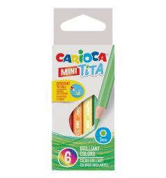 Карандаши цветные Carioca Mini tita