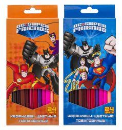 Карандаши цветные Action DC Comics!