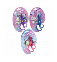 Ножницы детские Action Blue Nose Friends с безопасными пластиковыми лезвиями (13 см)