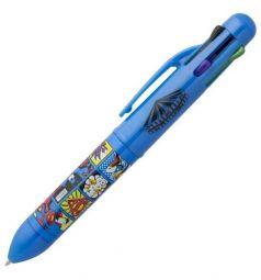 Ручка шариковая Action DC Comics многоцветная 6 цветов