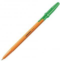 Ручка шариковая Carioca Corvina 51 зеленая