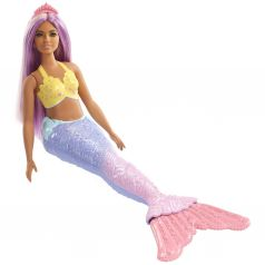 Кукла Barbie Dreamtopia Русалочка с сиреневыми волосами