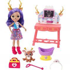 Игровой набор Enchantimals Кукла со зверюшкой Данесса ветеринар 15 см