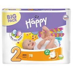 Подгузники Bella Baby Happy Mini 2 (3-6 кг) 78 шт.