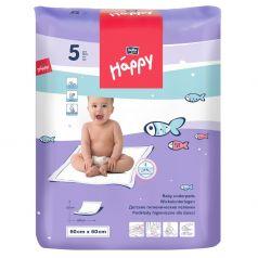 Пеленки Bella детские Baby Happy 60х60 см, 5 шт