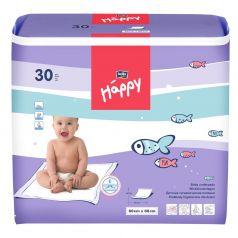 Пеленки Bella детские Baby Happy 60х60 см, 30 шт