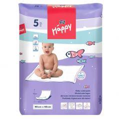 Пеленки Bella детские Baby Happy 60х90 см, 5 шт