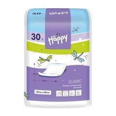 Пеленки Bella Baby Happy детские Baby Happy Classic 60х60 см, 30 шт
