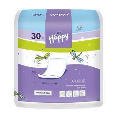 Пеленки Bella детские Baby Happy Classic 60х90 см, 30 шт