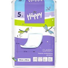 Пеленки Bella детские Baby Happy Classic 60х90 см, 5 шт