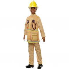 Кукла Barbie Кем быть? Пожарный