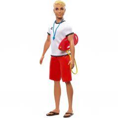 Кукла Barbie Кем быть? Пляжный спасатель