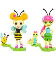 Кукла Enchantimals Друзья букашки Кей и Биатрис 5 см