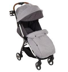 Прогулочная коляска Capella S-250, цвет: светло-серый