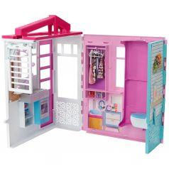Кукольный домик Barbie раскрасдной