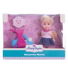Кукла Mary Poppins Мегги Прогулка с питомцем 9 см