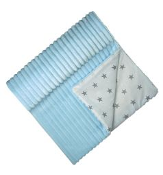 Плед Funecotex Мечта 92 х 92 см, цвет: голубой