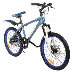 Двухколесный велосипед Capella G20S651, цвет: темно-серый/синий