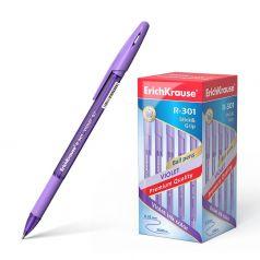 Ручка шариковая Erich Krause Violet R-301 Stick&Grip