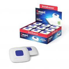 Ластик Термопластичная резина Erich Krause с пластиковым держателем Smart Mini Square