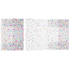 Папка А4 Erich Krause Dots на резинках пластиковая