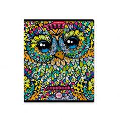 Тетрадь А5+ 48л клетка Erich Krause общая Owls
