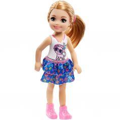 Кукла Barbie Челси Рыжеволосая в топе с котенком