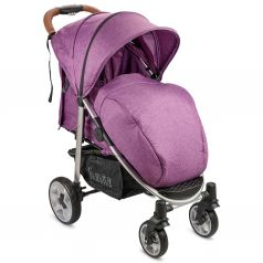 Прогулочная коляска Nuovita Corso, цвет: viola argento