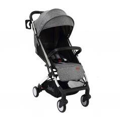 Прогулочная коляска Nuovita Anima, цвет: grigio argento