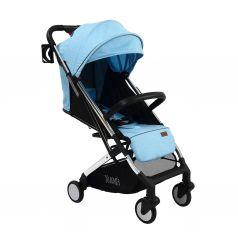 Прогулочная коляска Nuovita Anima, цвет: blu argento