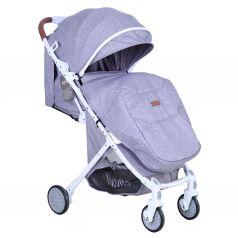 Прогулочная коляска Nuovita Giro Lux, цвет: grigio bianco