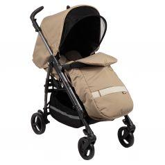 Прогулочная коляска Peg-Perego Si Completo с шасси Dark Grey, цвет: class beige