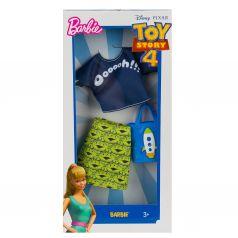 Одежда Barbie Коллаборации Зеленая юбка, синяя сумка с рисунком ракеты