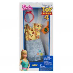 Одежда Barbie Коллаборации Серая юбка с звездами/красный ободок