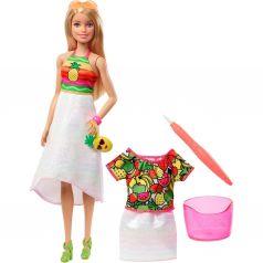 Кукла Barbie Фруктовый сюрприз Блондинка