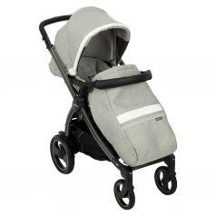 Прогулочная коляска Peg-Perego Book Plus S Pop Up с шасси Book 51 S Titania, цвет: luxe pure