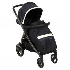 Прогулочная коляска Peg-Perego Book Plus S Pop Up с шасси Book 51 S Titania, цвет: luxe prestige
