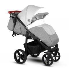 Прогулочная коляска Camarelo, цвет: светло-бежевый/белый