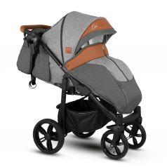 Прогулочная коляска Camarelo, цвет: серый/коричневый