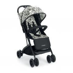 Прогулочная коляска Cam Compass, цвет: белый/черный/принт