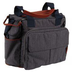 Сумка для коляски Inglesina Dual Bag, цвет: Indigo Denim