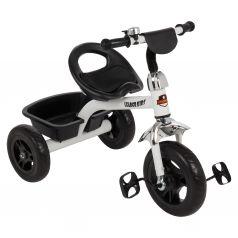 Трехколесный велосипед Leader Kids K202, цвет: белый