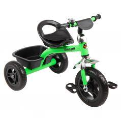 Трехколесный велосипед Leader Kids K202, цвет: зеленый