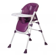 Стульчик для кормления BabyHit Pancake, цвет: фиолетовый