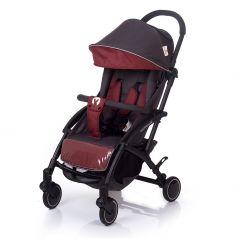 Прогулочная коляска BabyHit Allure, цвет: темно-серый/красный
