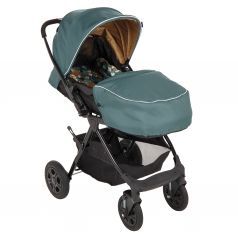 Прогулочная коляска Corol L-10, цвет: зеленый