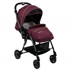 Прогулочная коляска Capella S-230, цвет: вишневый