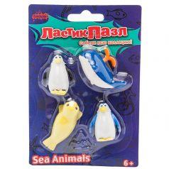 Ластик-пазл резина Бумбарам Морские животные